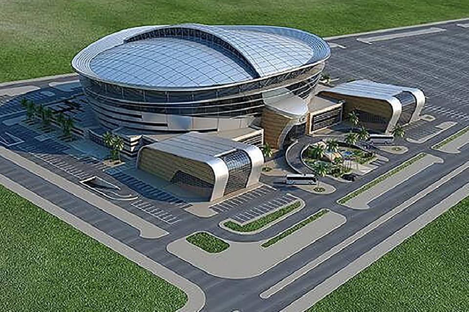 Wiederaufbau der Multifunctional Arena in Doha, Qatar