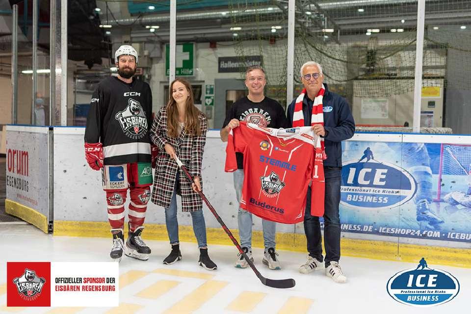 Official sponsor of the Eisbären Regensburg