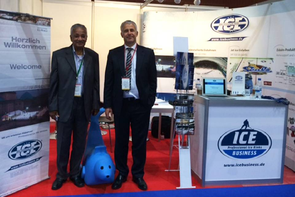 Ice Business at DEAL 2015 in Dubai