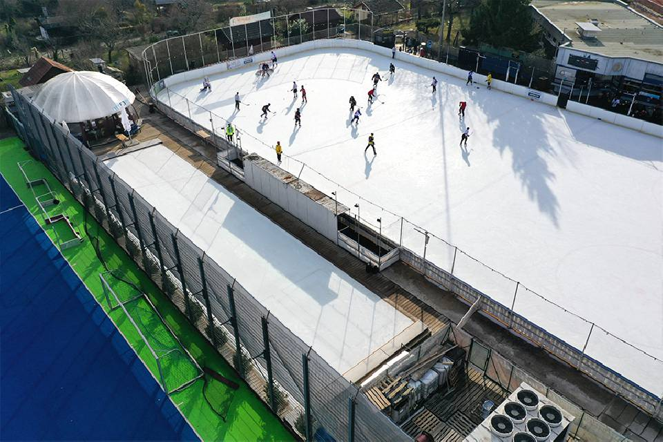 Why you should buy an ice rink.