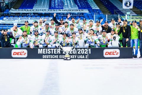 Die Bietigheim Steelers sind Deutscher Meister DEL2